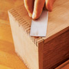 Putting corner of box slats