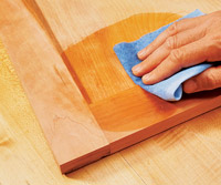 Hand rubbing board