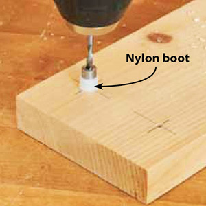 Copy on photo, Nylon boot