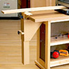 Workbench with jig on it