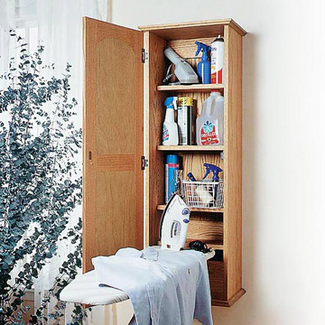Ironing Board Cabinet Plans