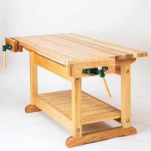 Oak workbench