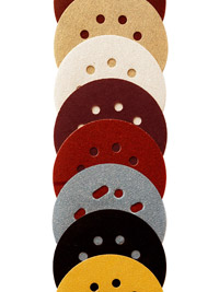 Woodworking sanding discs