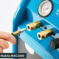 Makita compressor connector