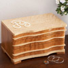 Contoured-Front Jewelry Box