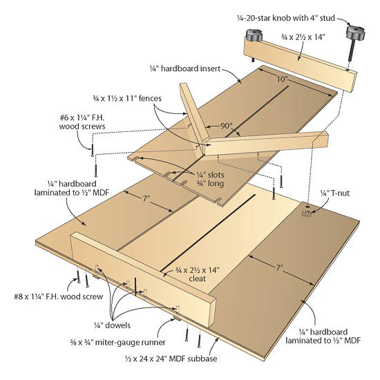 furniture plans sled