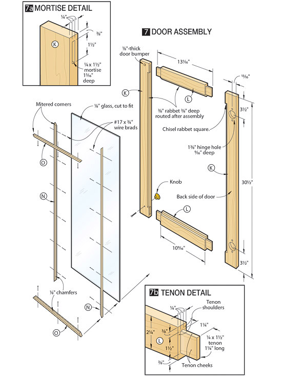 display shelf plans