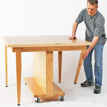build folding workbench