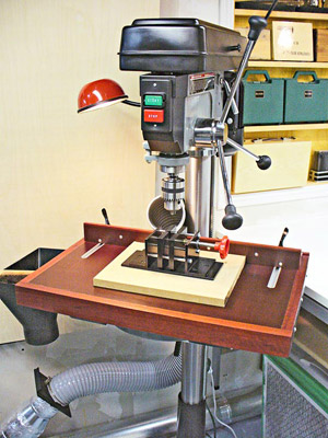 Drill-Press Table