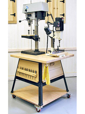Drill-Press/Mortiser Stand