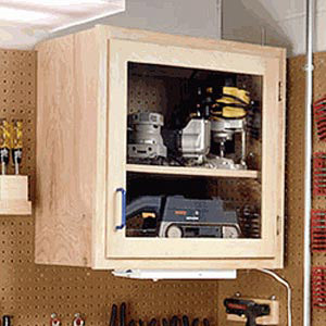 Modular Wall Cabinet System