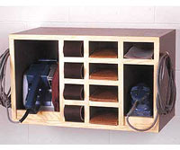 All-in-One Sander Cabinet Woodworking Plan