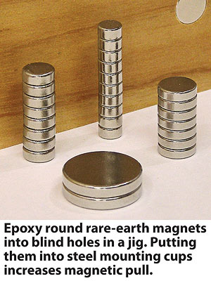 Strong and mighty rare-earth magnets