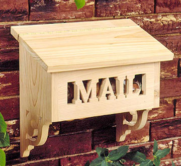 Creative Woodwork Wood Plans Mailbox PDF Plans