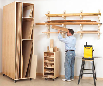 Scrap Wood Storage Ideas