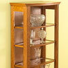 Free Bow-front Display Case Woodworking Plan