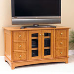 Compact home entertainment center