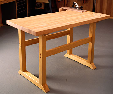 Woodshop Workbench Plans Free