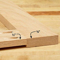 2 boards with holes on one