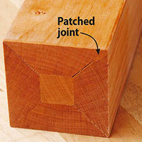 Patched joint