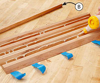 Gluing boards