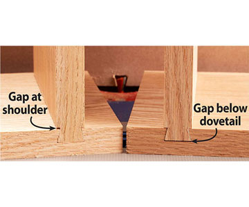 how to make dovetails on router table