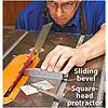 Protractor by saw blade