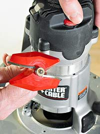 Big red router bit