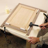 Make doors and frames