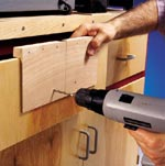 Drawer Pull Mounting Jig