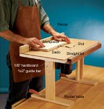 Sliding Top Router