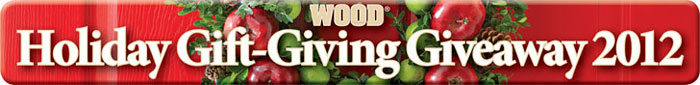 WOOD Holiday Bonanza Giveaway