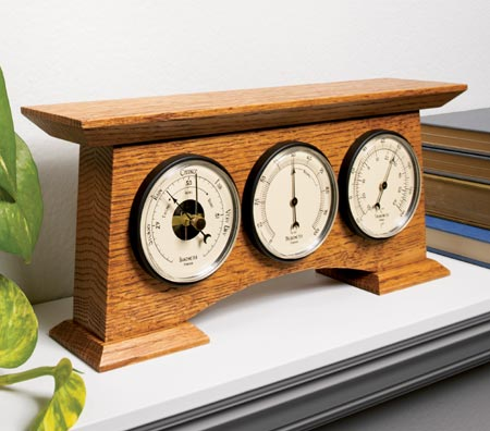 wood weather station