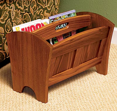 magazine rack table. Issue 168, March 2006