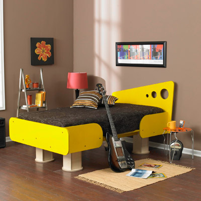 Bedroom Ideas  Young Adults on Young Adult This Twin Size Bed Knocks Down For Storage Or For Moving