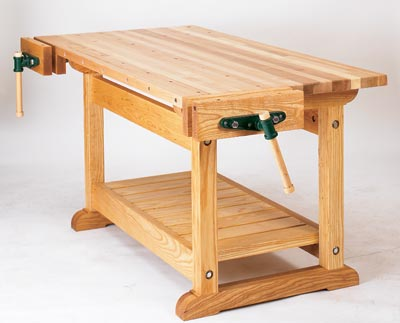 Wood Work Bench : WOOD Issue 166, November 2005 Woodworking Plan from WOOD Magazine