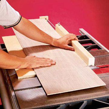 Panel cutting sled
