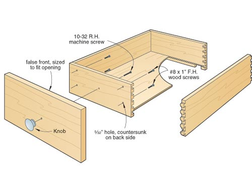 woodworking projects drawers
