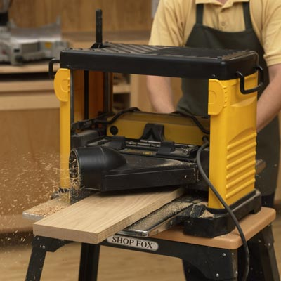 wood thickness planer
