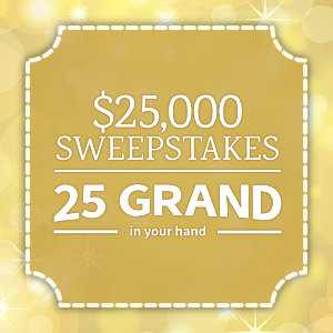 Allrecipes 25 Grand In Your Hand 25 000 Sweepstakes