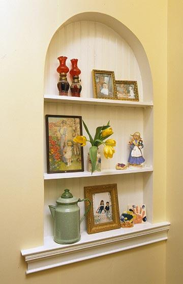 من مساحة الغرفة الأصلية المرايا عند توزيعها بطرق معينة تساعد