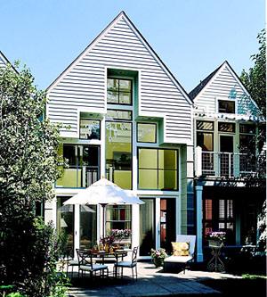 Postmodern style house