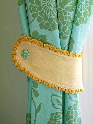 Curtains Panel Crochet