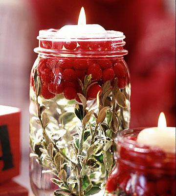 Illuminating Holiday Jars