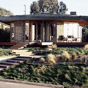 Prairie-style home
