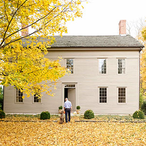 Colonial-style home