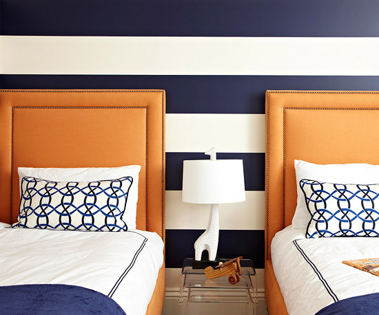 Trend Alert Navy Amp Orange Home Stories A To Z
