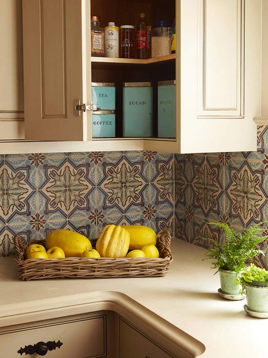 Today S Idea Add A Backsplash To Your Kitchen Counter Decogirl Montreal Home Decorating Blogdecogirl Montreal
