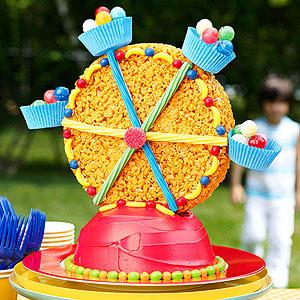 Ferris Wheel Birthday Cake