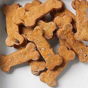 Pumpkin Bacon Dog Biscuits   Midwest Living